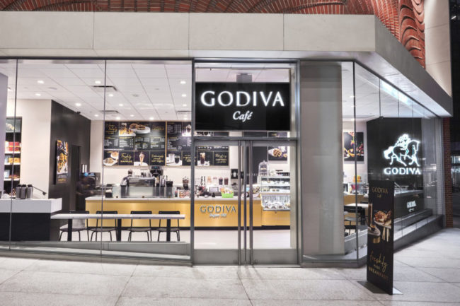 Godiva Cafe in NYC