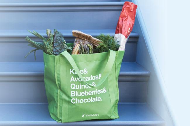 Instacart delivery bag