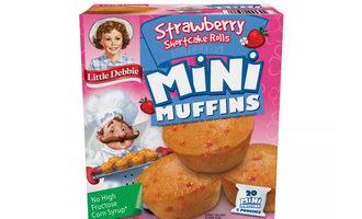 Littledebbiestrawberryshortcakeminimuffins lead