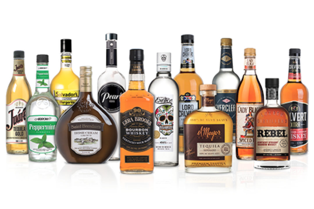 Luxco alcohol brands