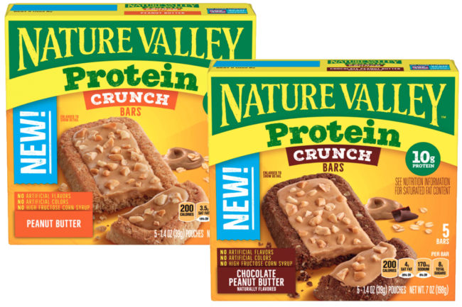 Nature Valley Protein Crunch bars