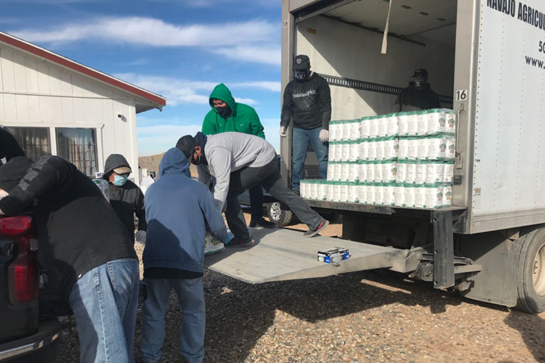 Panhandle Milling donations to Navajo Agricultural Products Industry