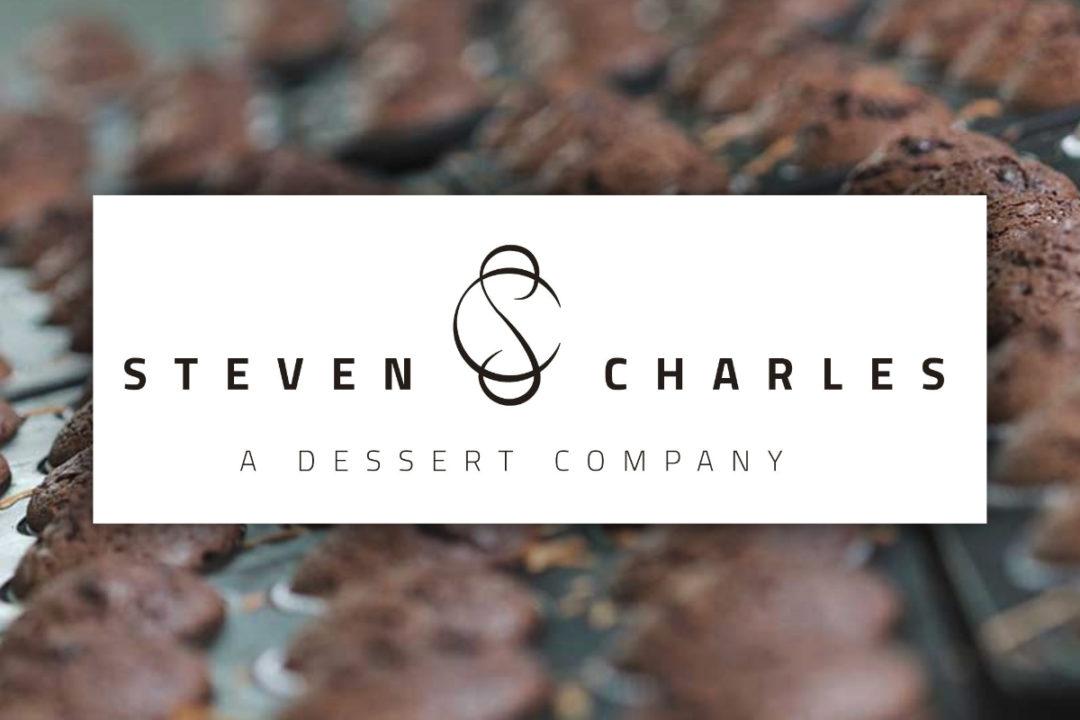 Steven Charles — A Dessert Company new logo