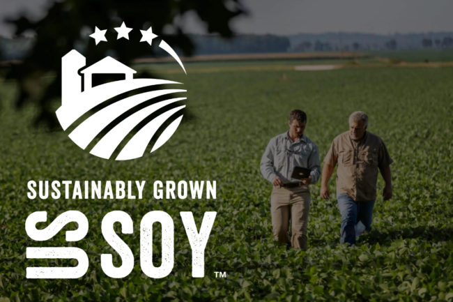 Sustainably Grown US Soy mark