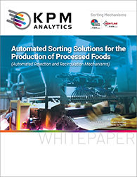 Automated Sorting Solutions for the Production of Processed Foods