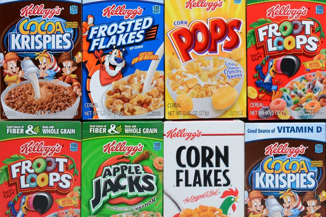 Kellogg's, Cereal Boxes