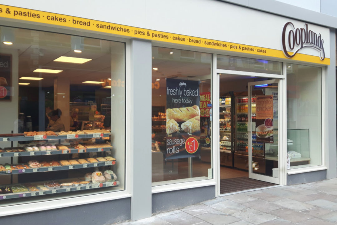Cooplands bakery