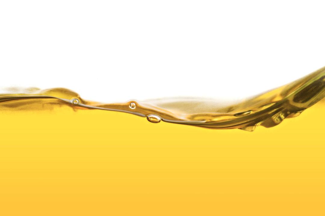 Yellow vegetable oil