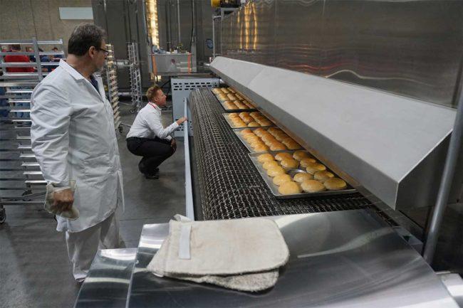 Middleby Bakery, Factory