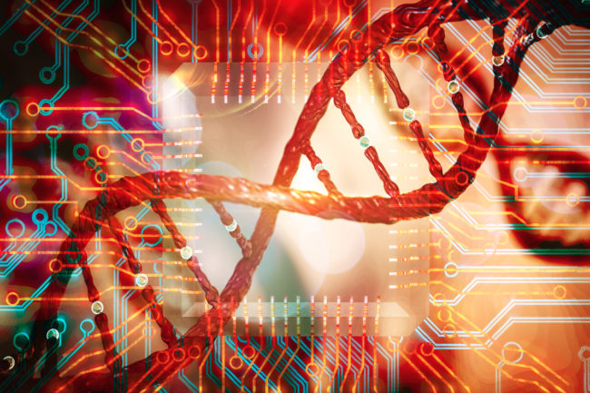 Bioinformatics concept