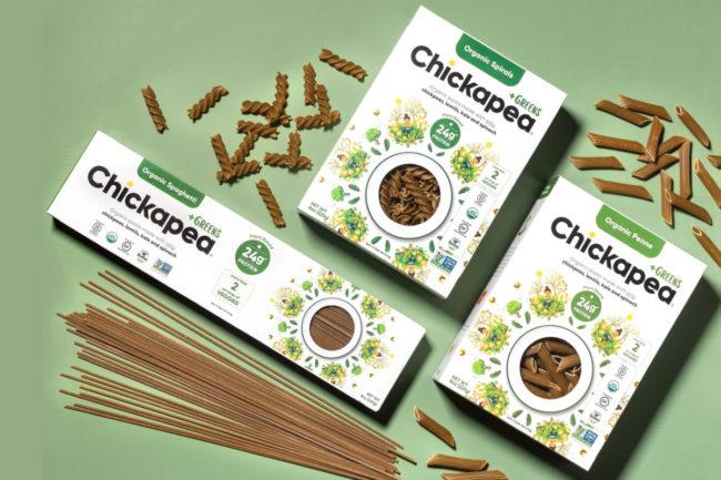 Chickapea +Greens plant-based pasta