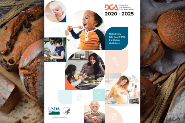 Dietary Guidelines for Americans 2020-25