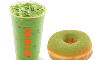 Dunkin matcha items lead