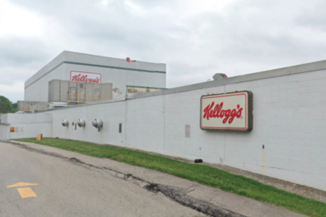 Kellogg's facility in Mariemont, OH