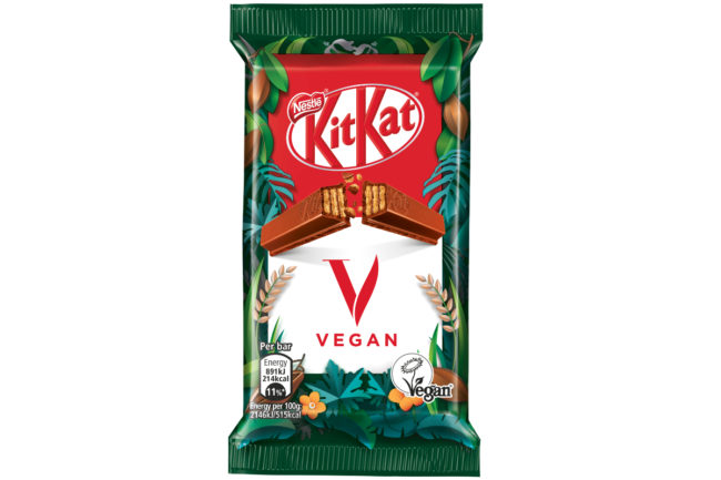 Nestle KitKat V vegan KitKat