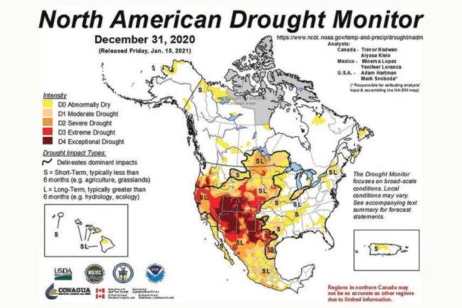 North American Drought Monitor