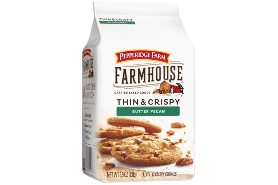 Pepperidge Farm Farmhouse Thin & Crispy Butter Pecan Cookies