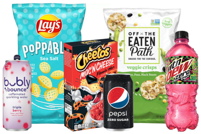 PepsiCo and Frito-Lay products