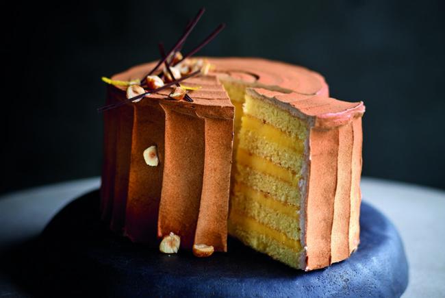 Puratos lemon pie layer cake