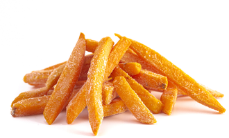 Sweet potato fries lead