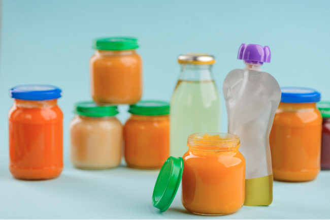 Baby food formats