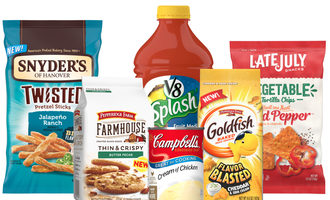 Campbellsoupnew products lead