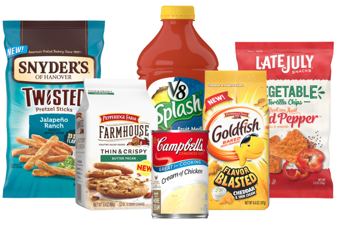 Campbell Soup new and classic products
