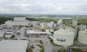 Cargill sidney ohio soy crush facility pre construction photo cred cargill e