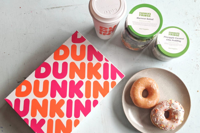 Dunkin' partnership with Farmer's Fridge