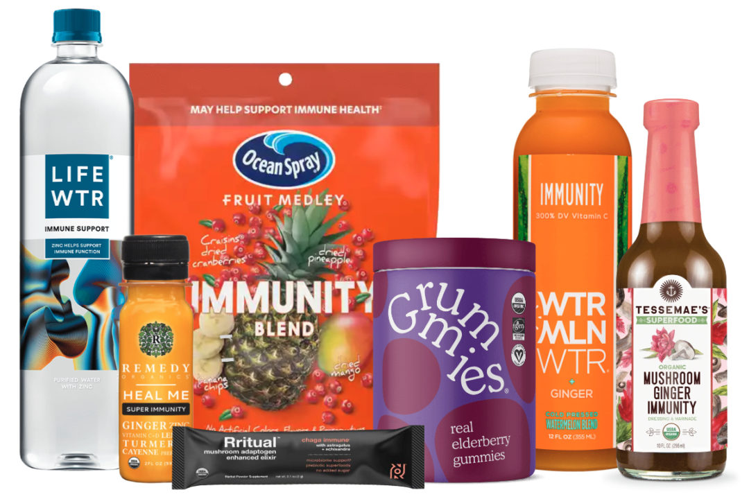 New products with immunity-boosting benefits