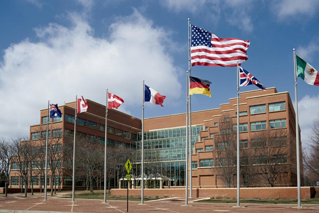Kellogg headquarters in Battle Creek, MI