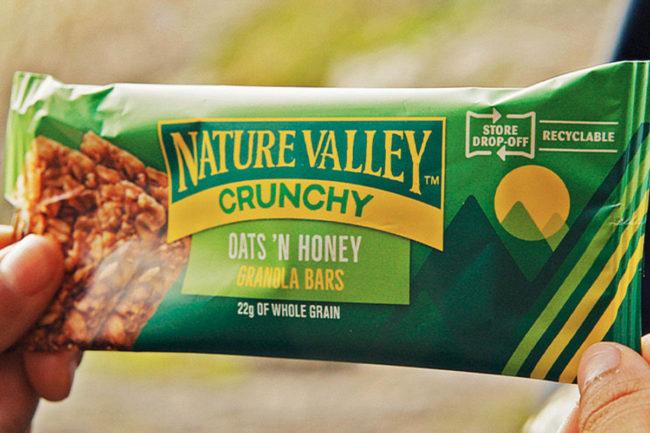 Nature Valley crunchy bar