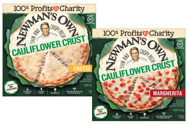 Newman's Own Cauliflower Crust Thin and Crispy Pizzas