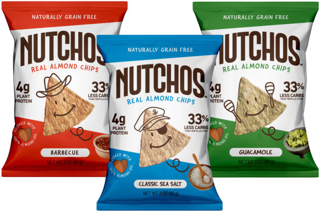 Nutchos almond tortilla chips