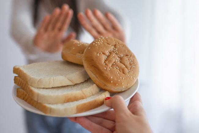 Refusing bread