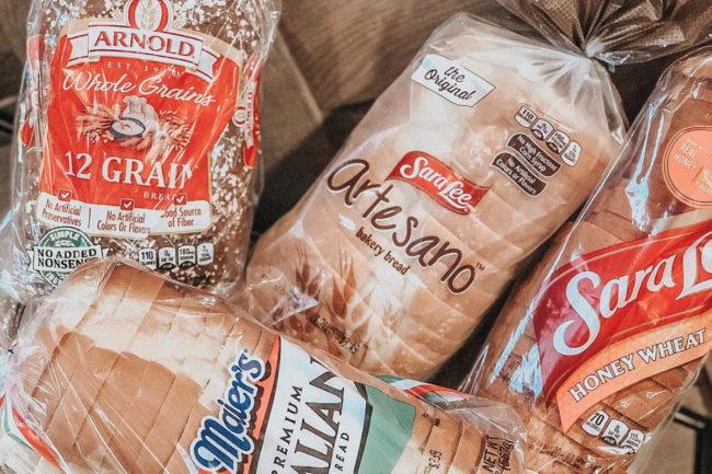 Bimbo bread varieties