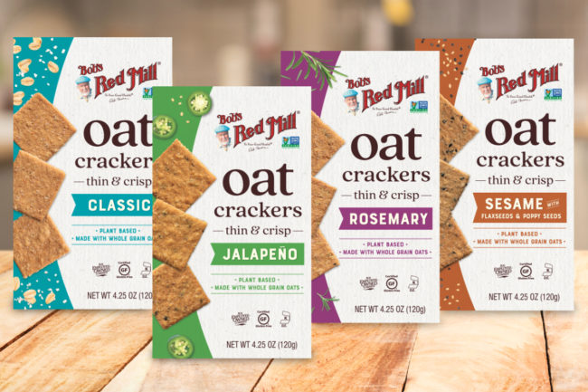 Bob's Red Mill Oat Crackers