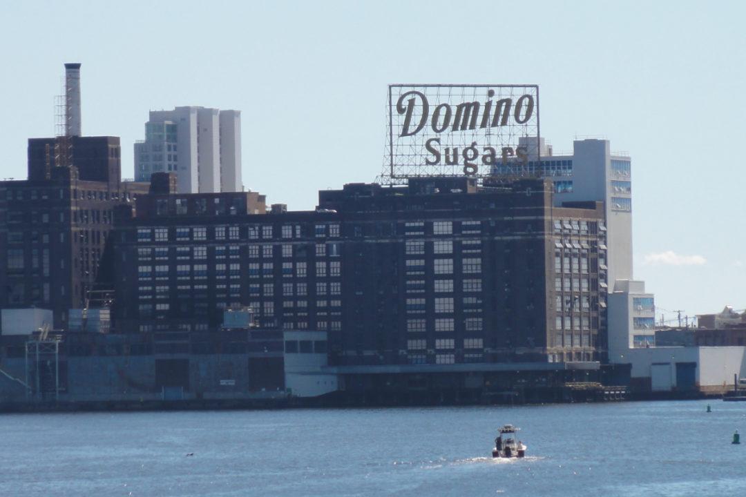 Domino Sugar refinery in Baltimore