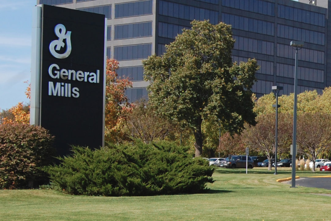 General Mills main office sign
