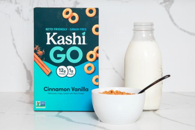 Kashi Go cinnamon vanilla cereal
