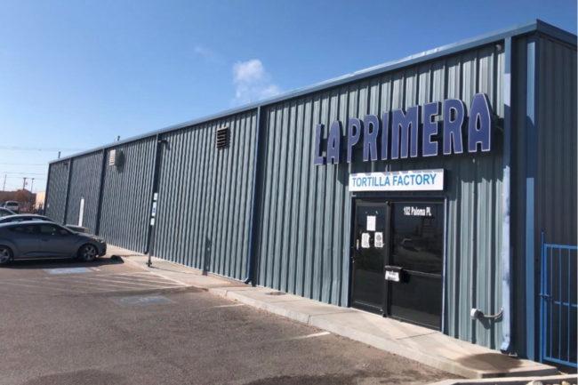 La Primera Tortilla Factory plant in Sunland Park, NM