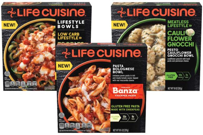 Nestle Life Cuisine frozen meals