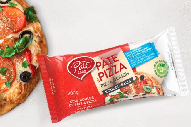 Les Aliments 2000 Inc. pizza dough