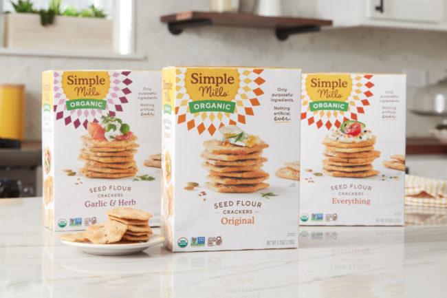 Simple Mills Organic Seed Flour Crackers