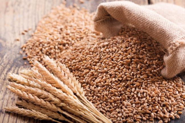 Wheat spill