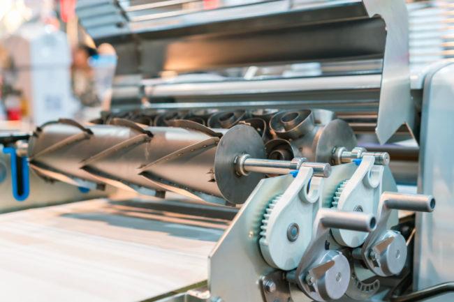 Bakery equipment dough sheeter