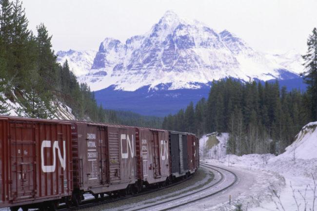 Canadian National Railway cars