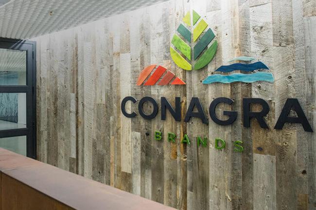 Interior of Conagra Brands Inc.'s headquarters in Chicago