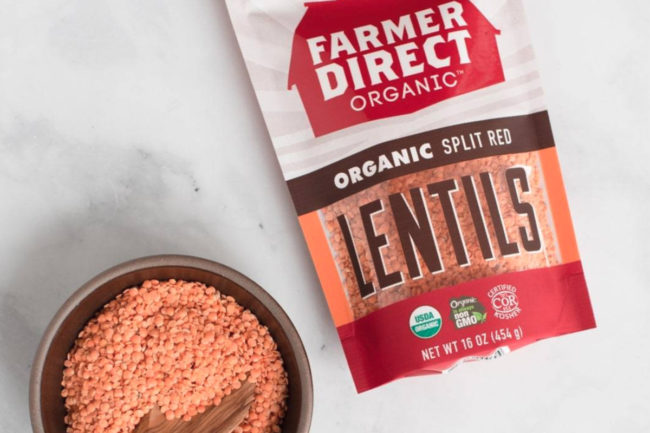Farmer Direct red lentils