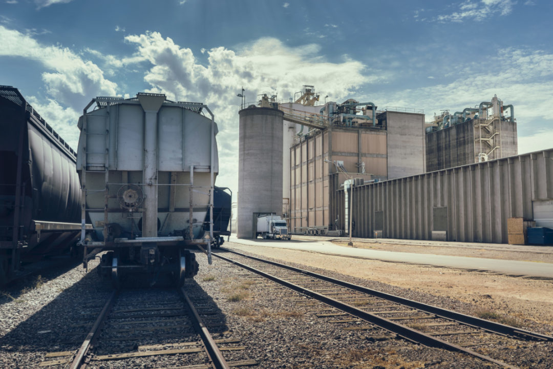 Grain transport railroad
